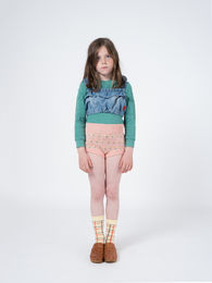 Bobo Choses - Flowers Knitted Culotte, Rose Dust (119123)