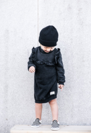 I dig denim - Lu Dress, Black washed