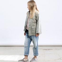 I dig denim - Scott Jacket, green washed