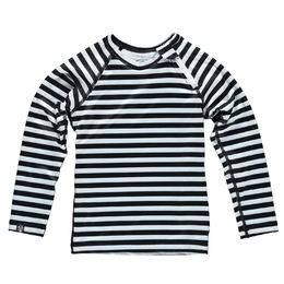 Beach & Bandits - Stripe Tee Long Sleeve, Black/White