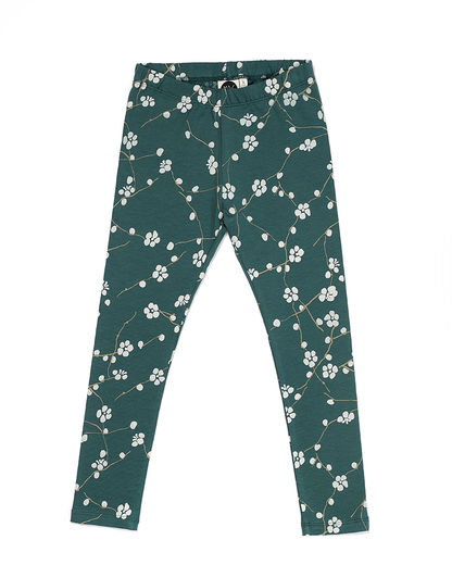 Mainio - Bloom leggings, Green
