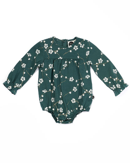 Mainio - Bloom body suit, Green