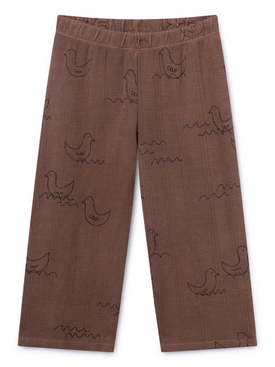 Bobo Choses - Brown Geese Straight Pants (119072)