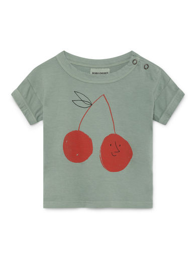 Bobo Choses - Cherry Short Sleeve T-Shirt (119151)