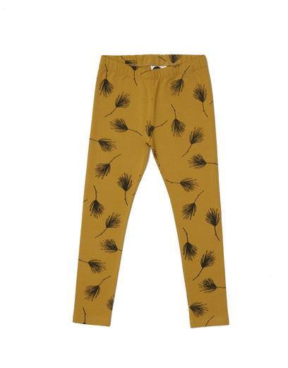 Mainio - Pine Leggings , Golden palm