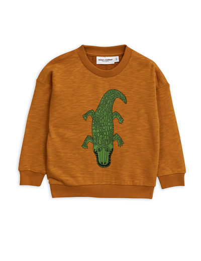 Mini Rodini - Crocco sp sweatshirt, Brown