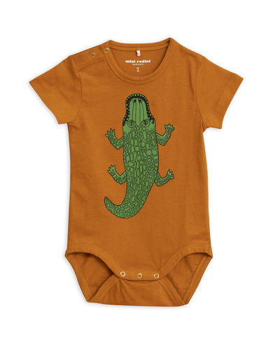 Mini Rodini - Crocco sp ss body, brown