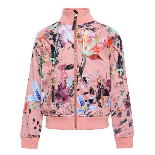 Molo Kids - Hestie soft shell jacket, Flowers Of The World