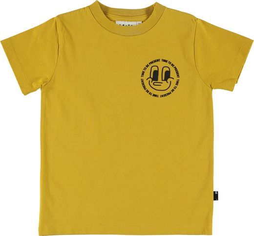 Molo Kids - Reeve T-shirt SS, Cadmium Yellow