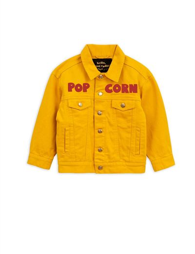 Mini Rodini - Twill jacket / Popcorn, Yellow