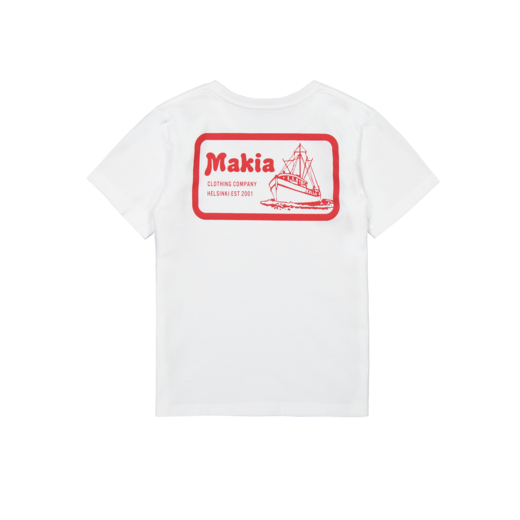 Makia - Fast T-Shirt, White