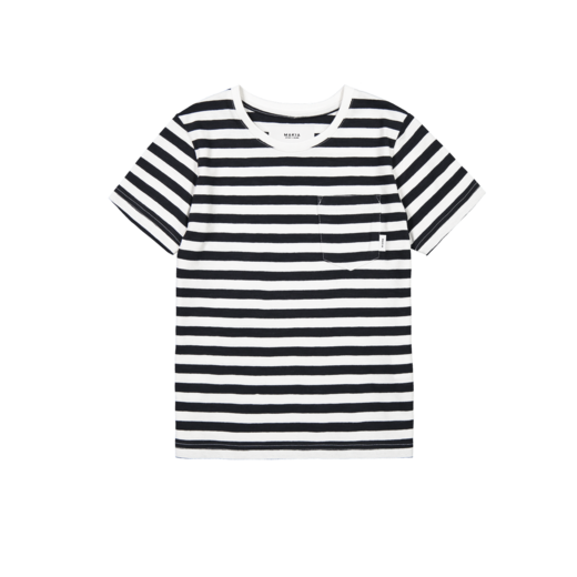 Makia - Verkstad T-Shirt, Black / White