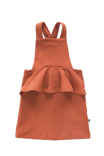 Kaiko - Peplum Dress, Rust