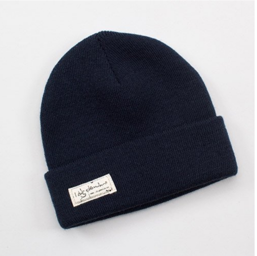 I dig denim - Morris beanie, Dark blue