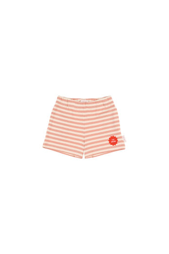 Tinycottons - 1ST PRIZE SHORT - Cream / Terracotta