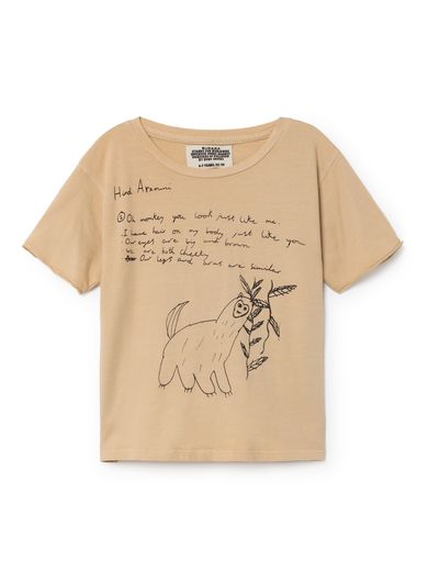 Bobo Choses - W.I.M.A.M.P brown T-shirt