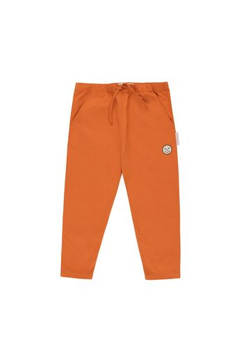 Tinycottons - 'HAPPY FACE' CROPPED PANT  brown