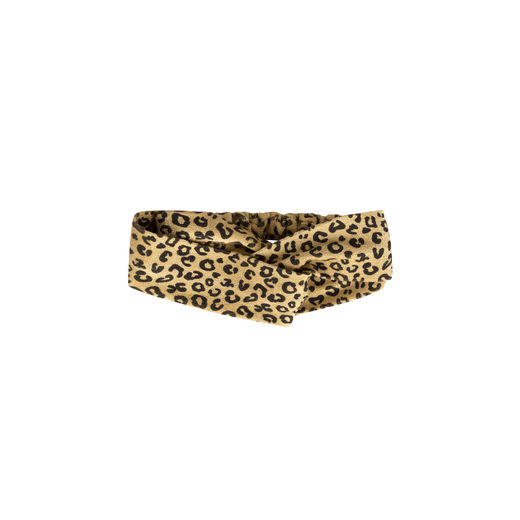 Maed for mini - Yellow Leopard Hair Band (ss2019-89)