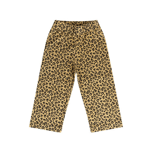 Maed for mini - Yellow Leopard pants (ss2019-21)