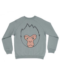 Mainio - MOONKII BOMBER SWEATJACKET, Silver blue