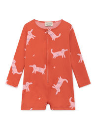 Bobo Choses - Dogs Swim Overall, Red (119148)