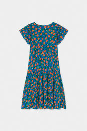 Bobo Choses - All Over Oranges Flamenco Dress 12001123