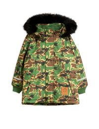 Mini Rodini - K2 camo parka, Green