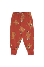 Tinycottons - CATS SWEATPANT, dark brown/brown