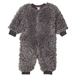 Beau LOves - Baby fur all in one, grey