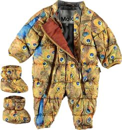 Molo Kids - Hebe - Golden peacock overall
