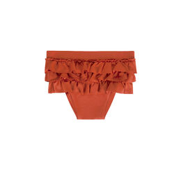 Maed for mini - Spicy Parrot Ruffle Swim Shorts (ss2019-86)