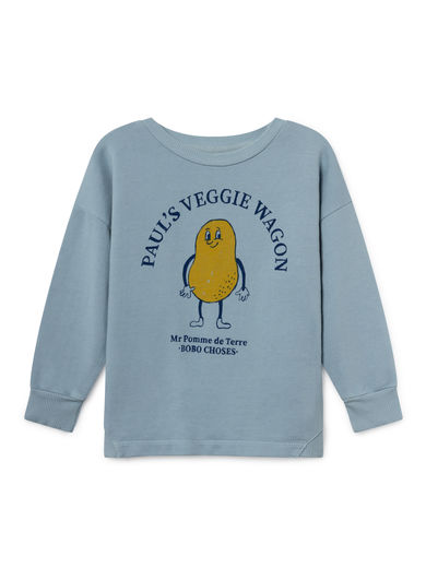 Bobo Choses - Pomme de Terre Round Neck Sweatshirt, Ashley (119033)
