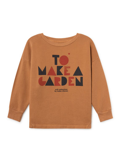 Bobo Choses - Geometric Round Neck Sweatshirt (119034)
