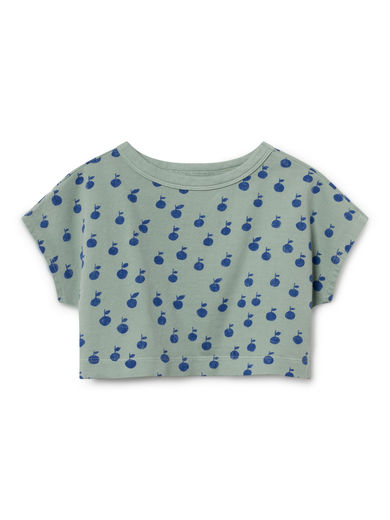 Bobo Choses - Apples Cropped Sweatshirt, Purple (119042)