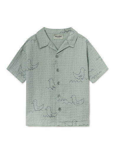 Bobo Choses - Geese Hawaiana Shirt (119048)