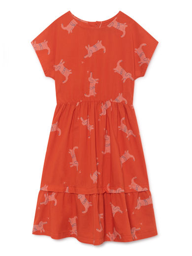 Bobo Choses - Dogs Princess Dress, Red (119097)