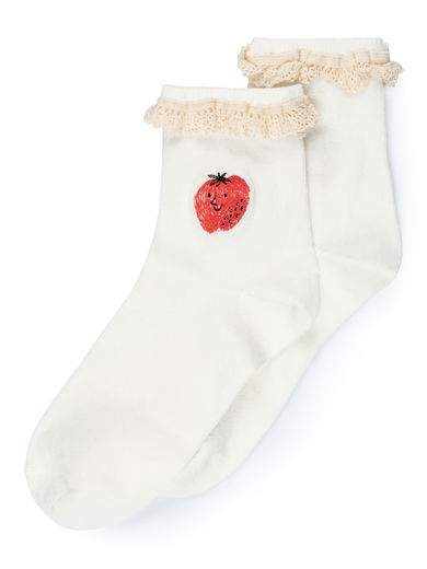 Bobo Choses - Strawberry Short Socks (119128)