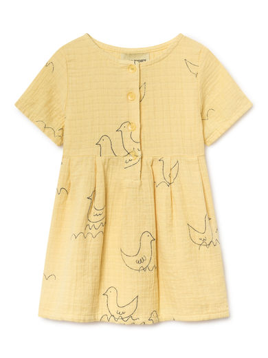 Bobo Choses - Geese Princess Dress, Mellow (119212)