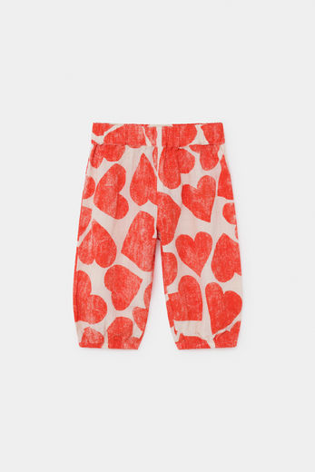 Bobo Choses - All Over Hearts Baggy Trousers 12000066