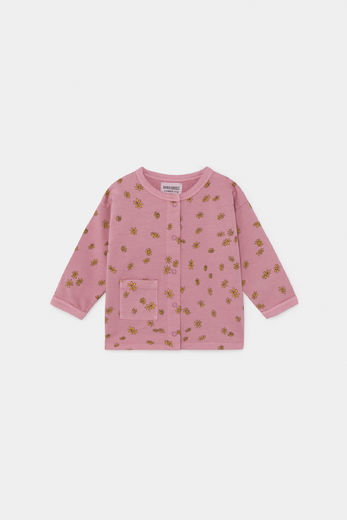 Bobo Choses -  All Over Daisy Buttoned Sweatshirt 12000077