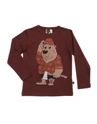 Mainio - Lumberjack Shirt, Brown