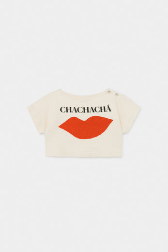 Bobo Choses - Chachacha Kiss Cropped Sweatshirt 12001033