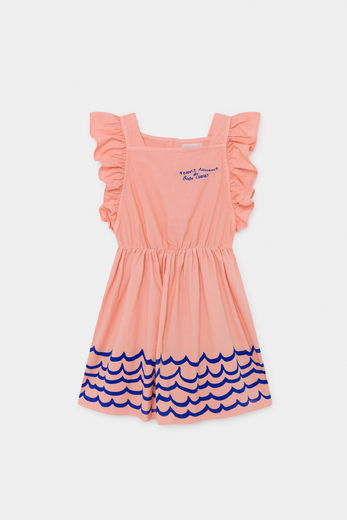 Bobo Choses - Waves Woven Ruffle Dress 12001122