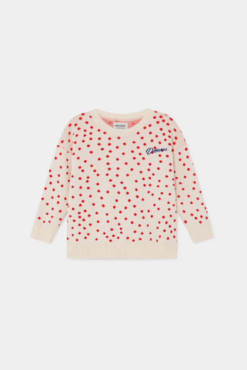 Bobo Choses - Dots Knitted Jumper 12001139