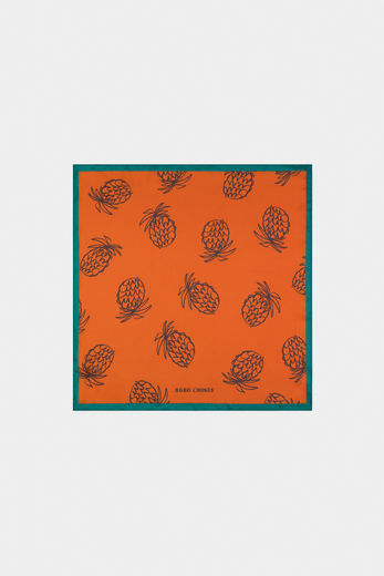 Bobo Choses - All Over Pineapple Square Scarf 12011019