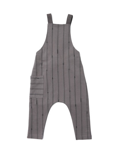 Mainio - Sticks Babies' Salopette, Charcoal grey
