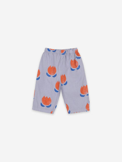 Bobo Choses - Chocolate Flowers All Over Woven Trousers, 121AB065
