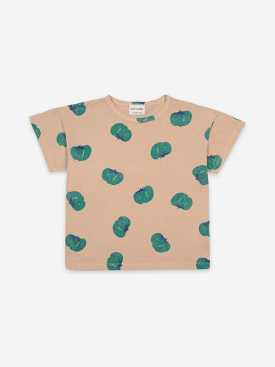 Bobo Choses - Tomatoes All Over Short Sleeve T-Shirt, 121AC011