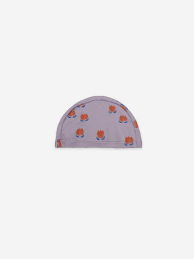 Bobo Choses - Chocolate Flowers All Over Swim Beanie, 121AI073