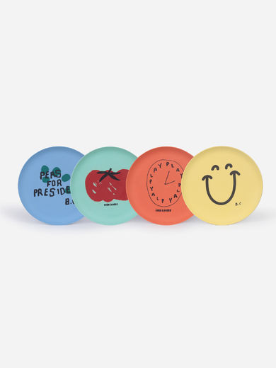 Bobo Choses - For President Pack Of Bamboo Plates, 121AU006